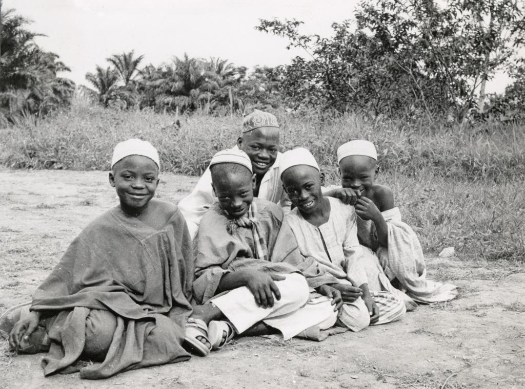 Enfants Haoussa (commerçants d'Afrique, originaire du Tchad)