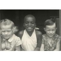 Enfants Rouzeau avec un ami