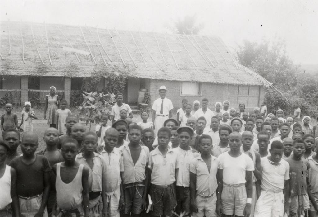 Enfants de l'école d'Oyem