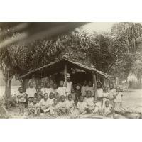 Enfants de l'école pahouine de Talagouga