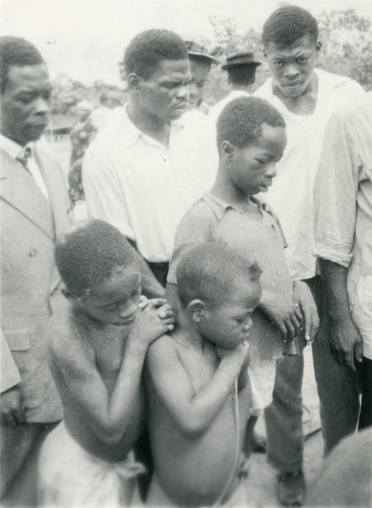 Enfants gabonais (Fang)