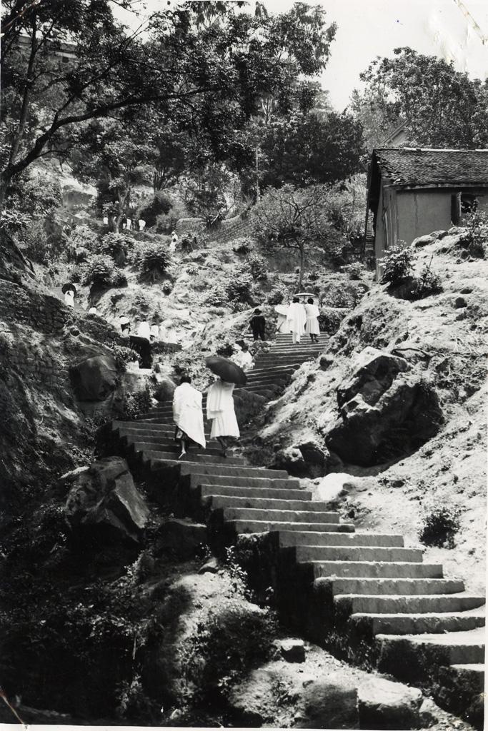 Escalier à Mahamasina en 1935