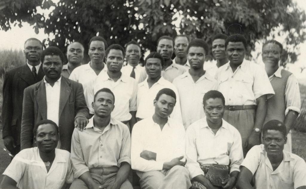 Etudiants de l'école de théologie de Ndoungue