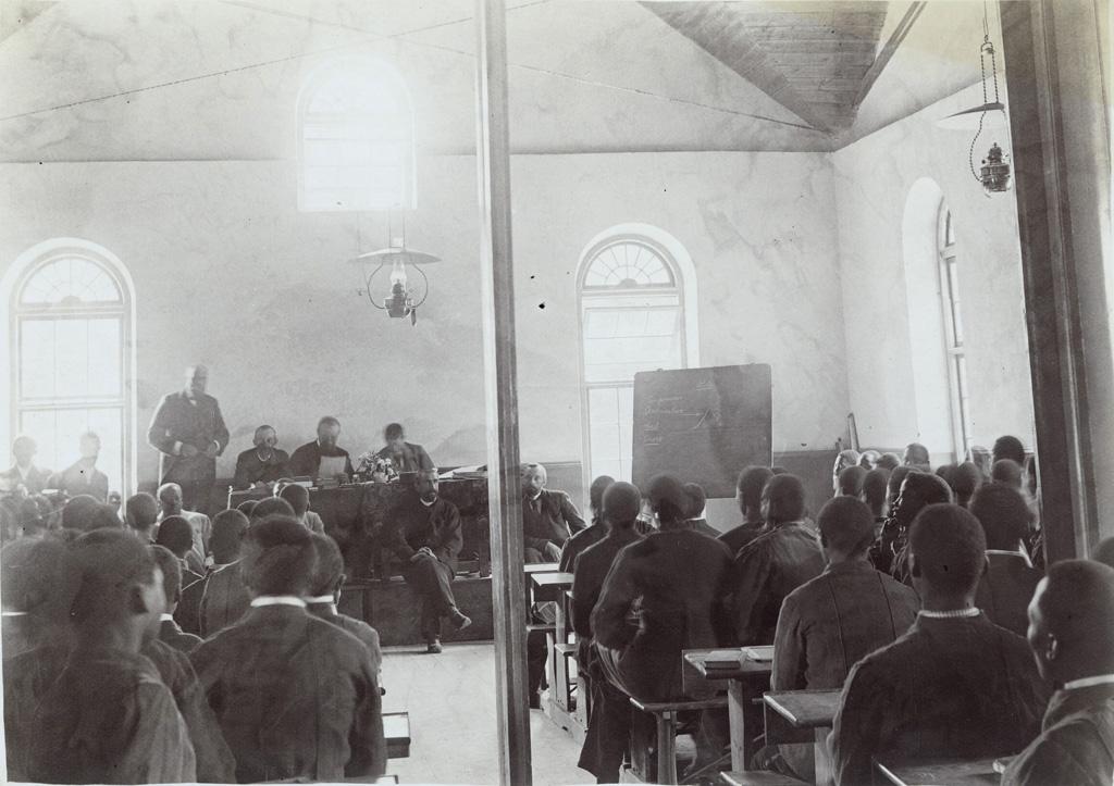 Examens à l'Ecole normale de Morija