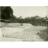 Fabrication de briques, séchage