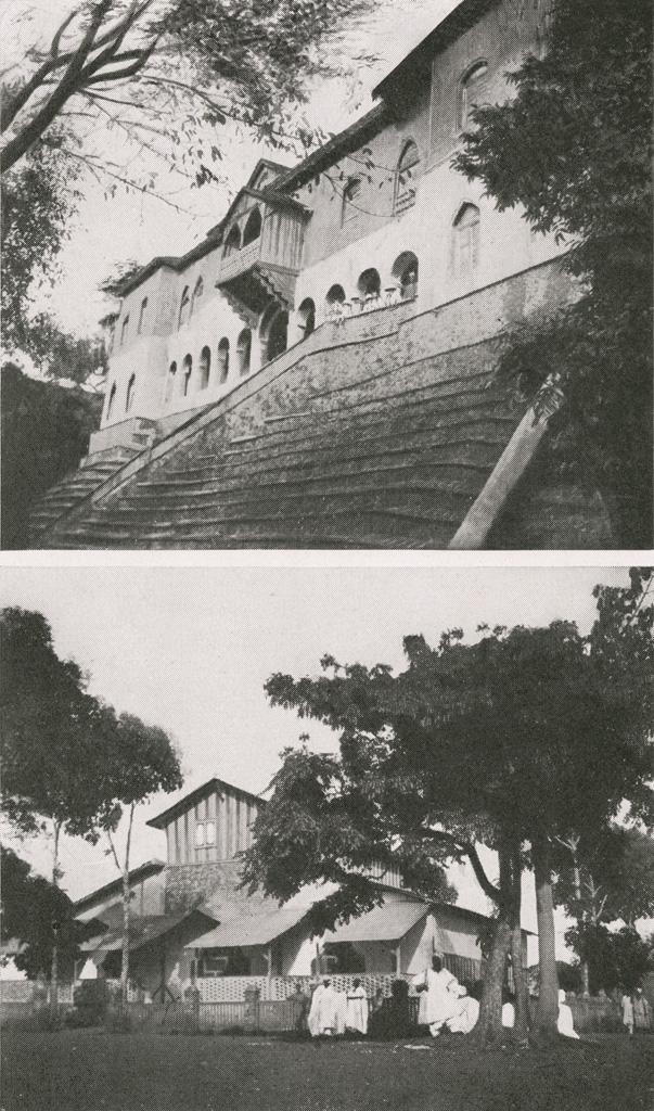 Façade arrière du palais du Sultan