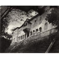 Façade du palais du sultan