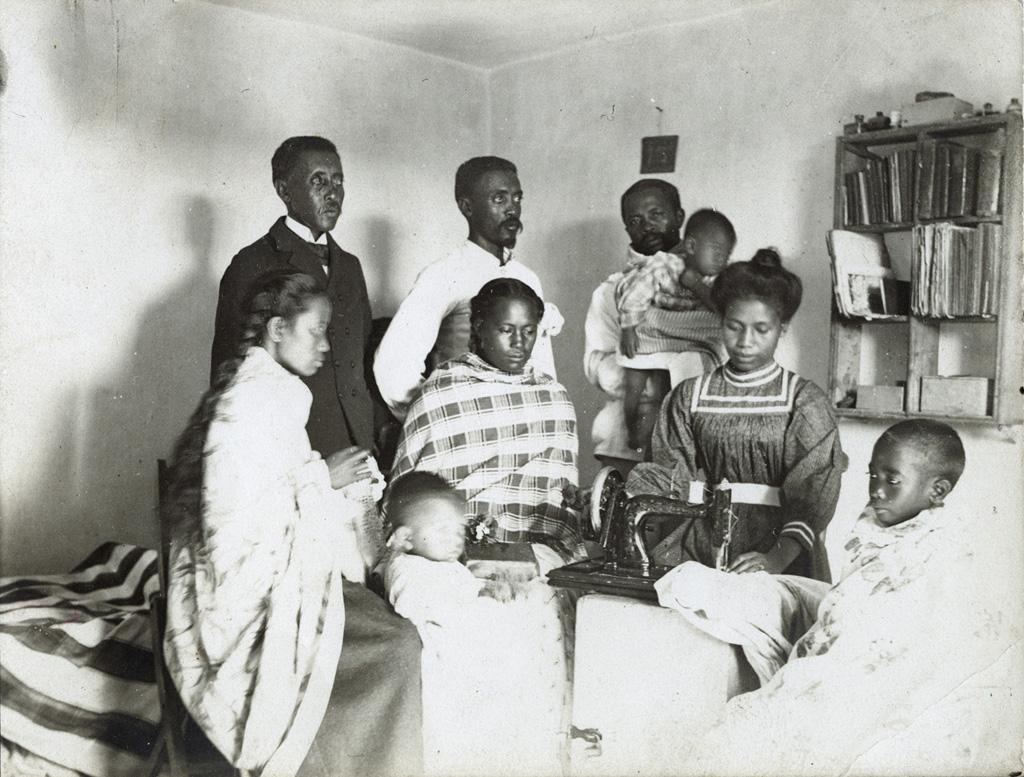 Famille malgache chrétienne