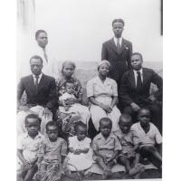 Familles d'élèves de l'école de théologie de Ndoungue