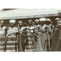 Femmes chrétiennes à la communion de Talagouga