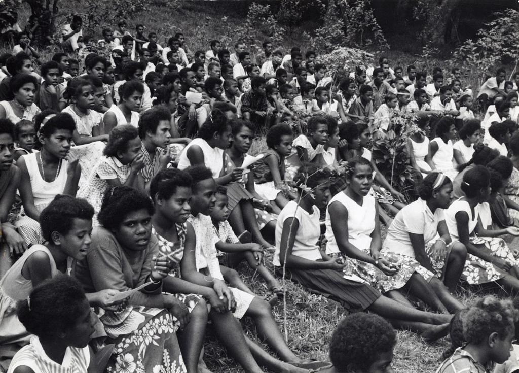 Fête annuelle de l'école de Do Neva : une partie des élèves