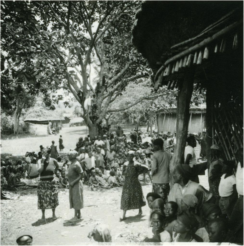 Fête de la mission, à Bangwa