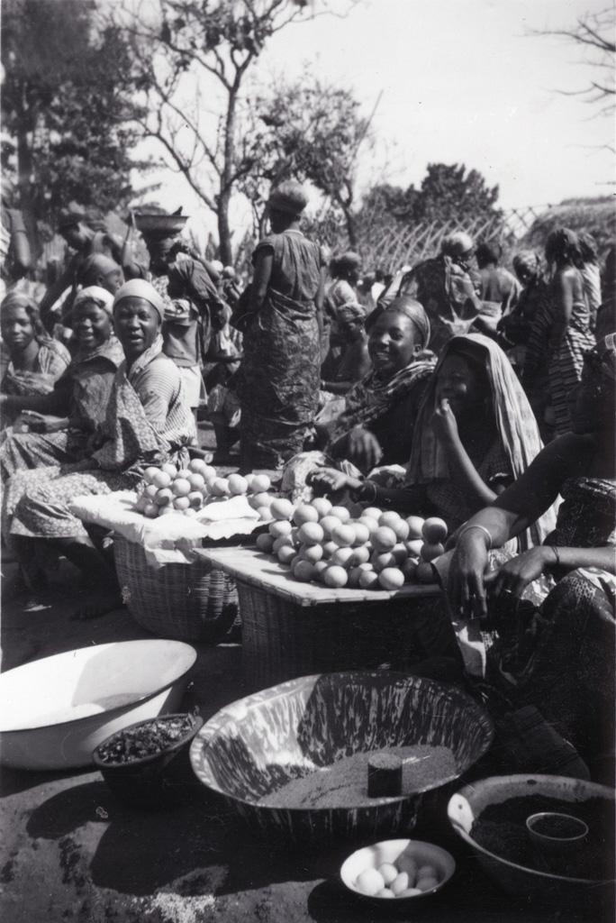 Foumban - au marché