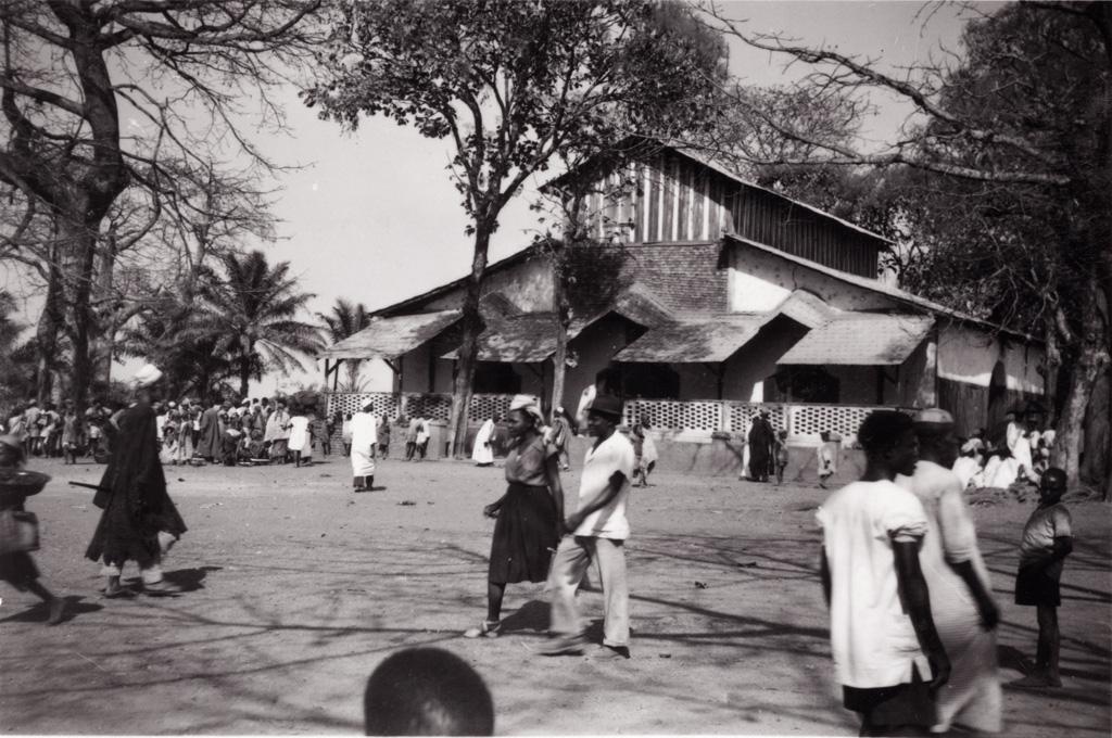 Foumban, la mosquée