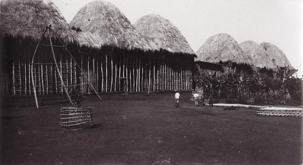 Foumban, maison de Njoya