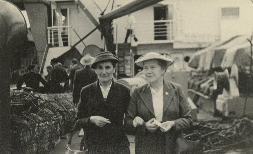 Graziella et Elisabeth Jalla