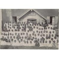 Groupe de l'école de mademoiselle Vidil