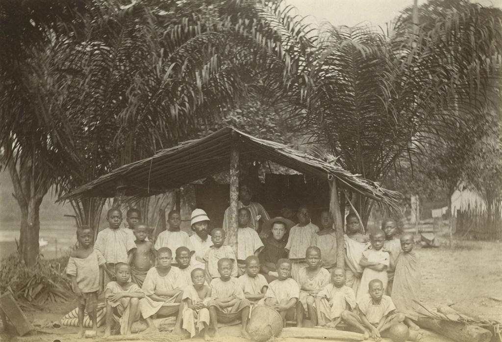 Groupe de l'école pahouine de Talagouga