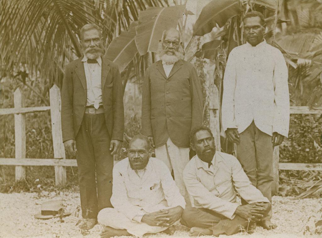 Groupe de pasteurs indigènes