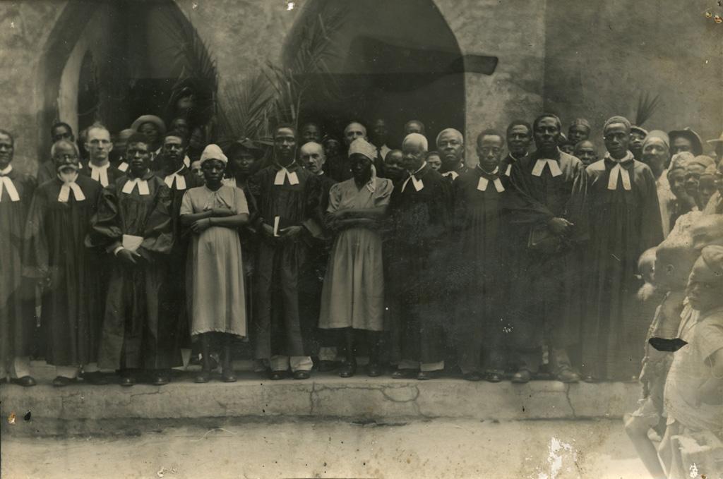 [Groupe de pasteurs] / non identifié (1940/1960)