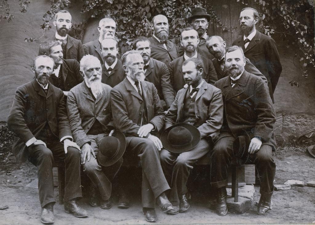 Groupe lors de la conférence missionnaire de Massitissi de 1895 / Alfred Casalis (1889/1906)