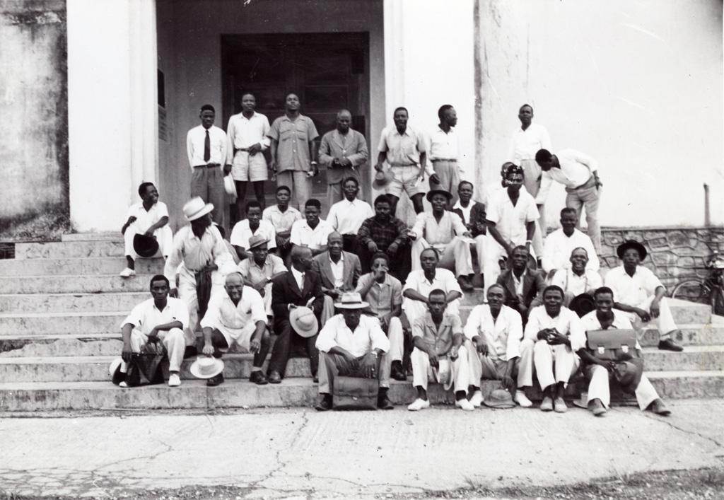 Groupe participant à la campagne d'évangélisation