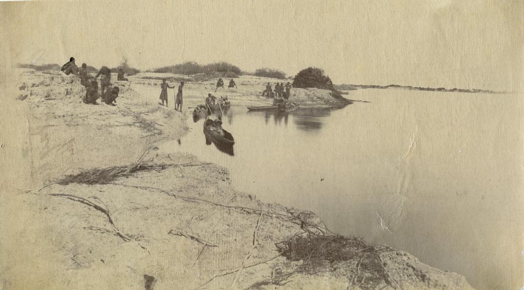 Halte au bord du Zambèze