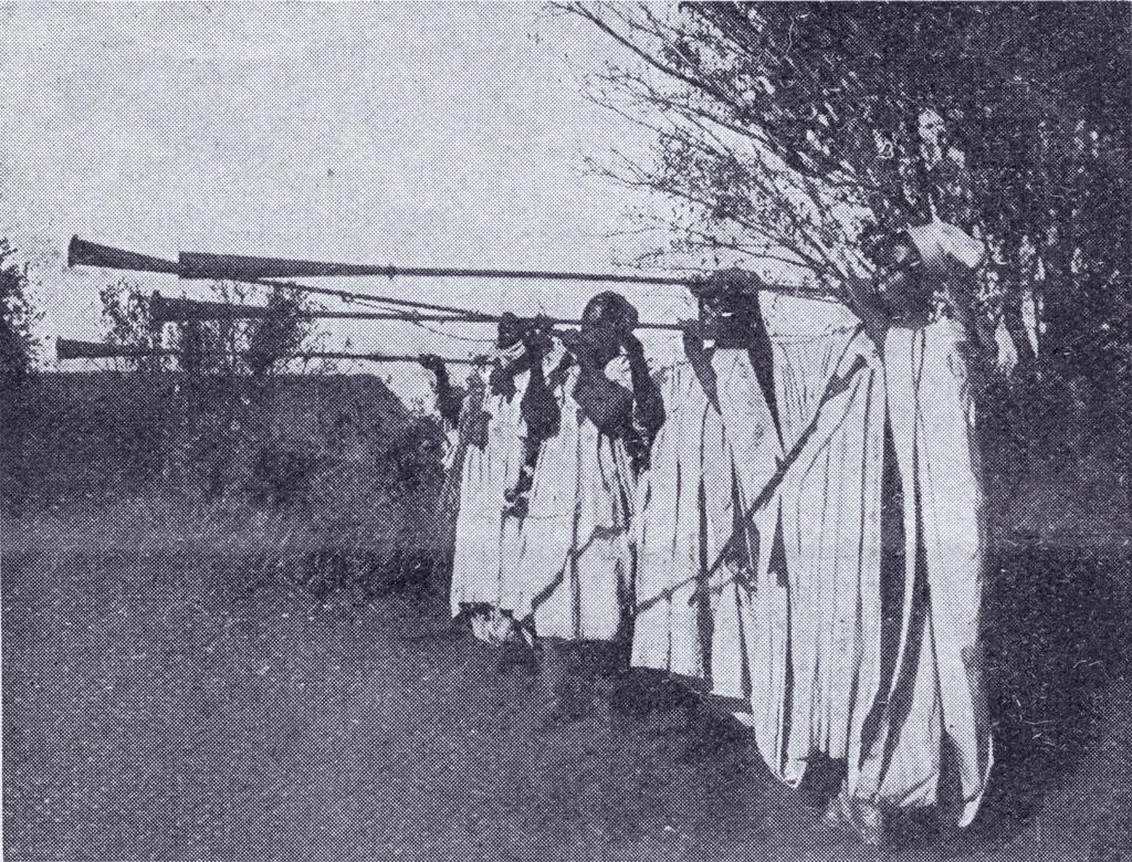 Hérauts du Sultan de Foumban