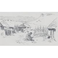 Hlotsé-Heights, le camp près de Leribe