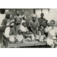 Hôpital de Bangwa, la pouponnière
