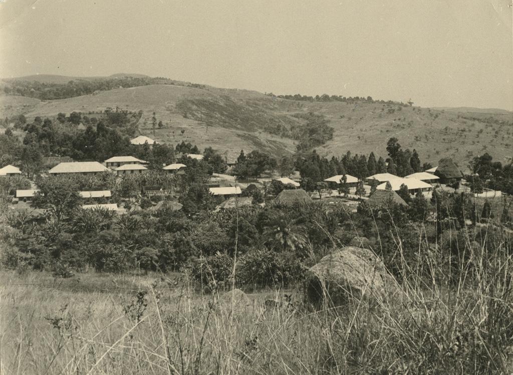 Hôpital de Bangwa, vue générale avant les agrandissements