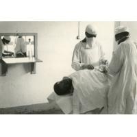 Hôpital de Ndoungue, intervention chirurgicale