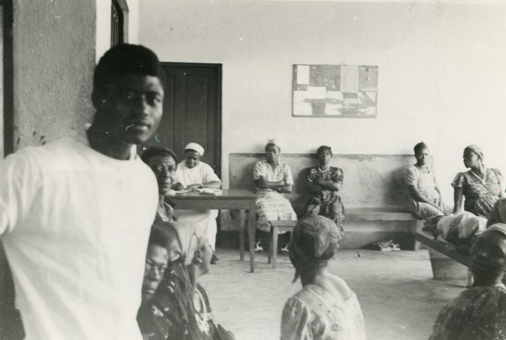 Hôpital de Ndoungue, salle d'attente