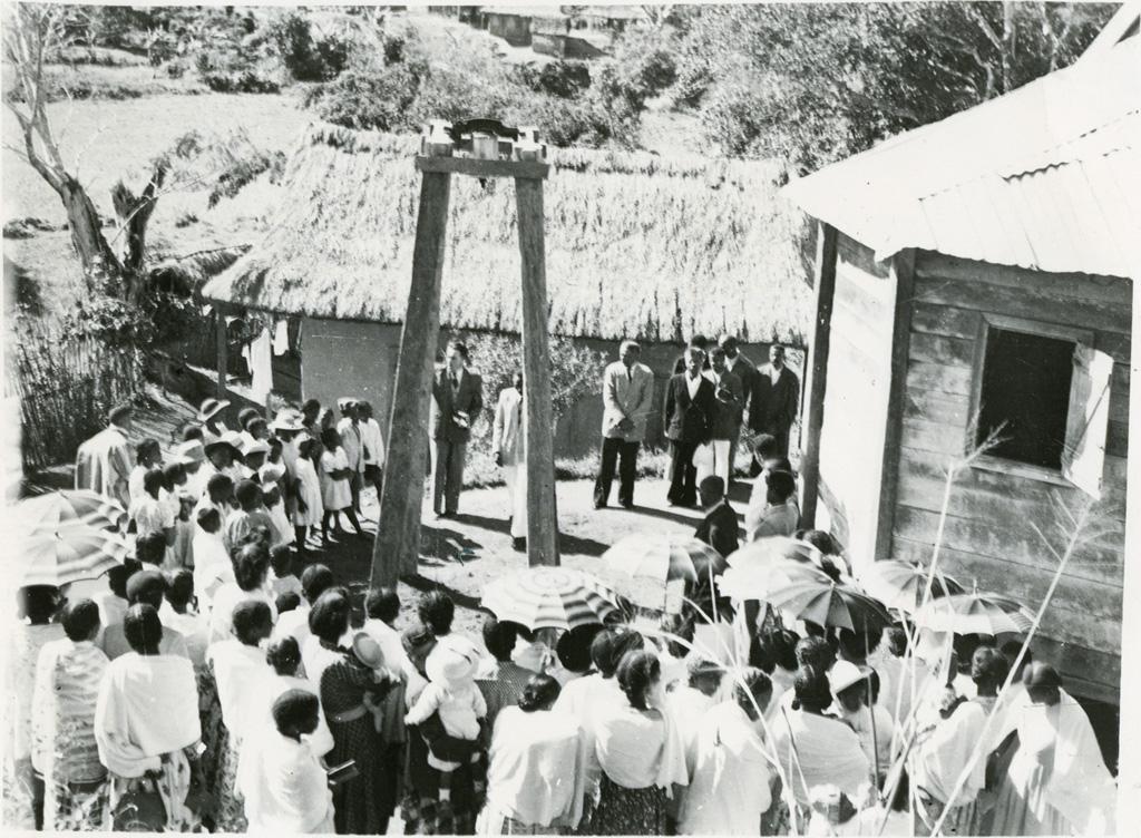 Inauguration d'une nouvelle cloche