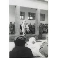 Inauguration de l'Ecole secondaire de Massitissi, le 6 décembre 1955
