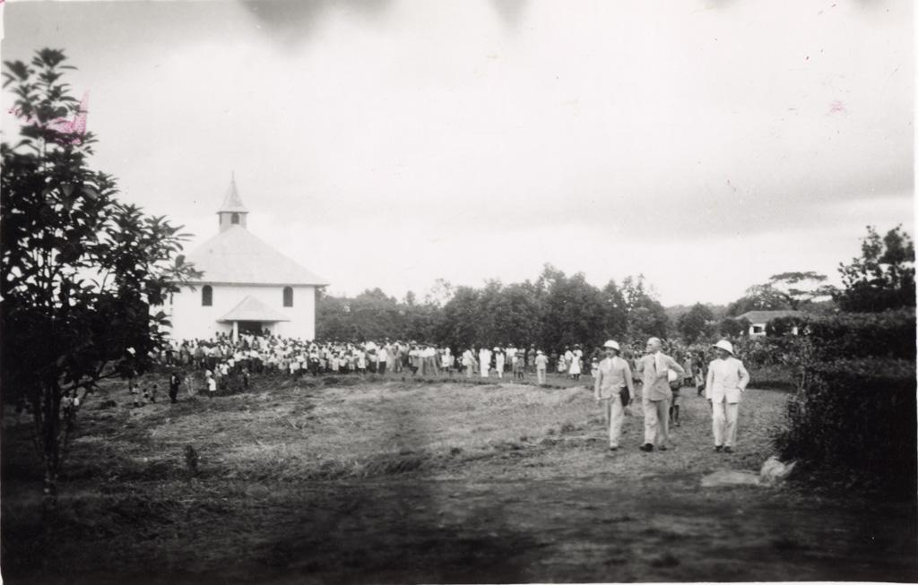 Inauguration de l'Eglise de Ndoungué