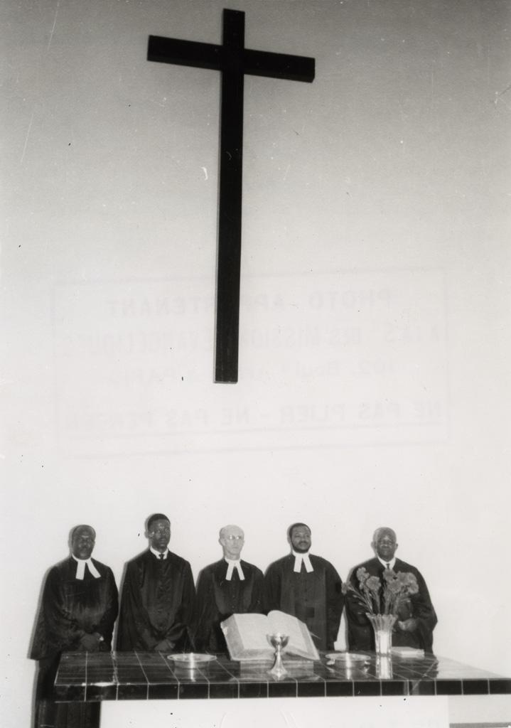Inauguration de la chapelle de Libamba / non identifié (1958-03-05)