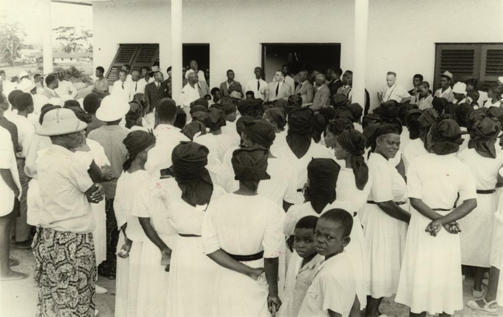 Inauguration du siège des Eglises baptistes au Cameroun