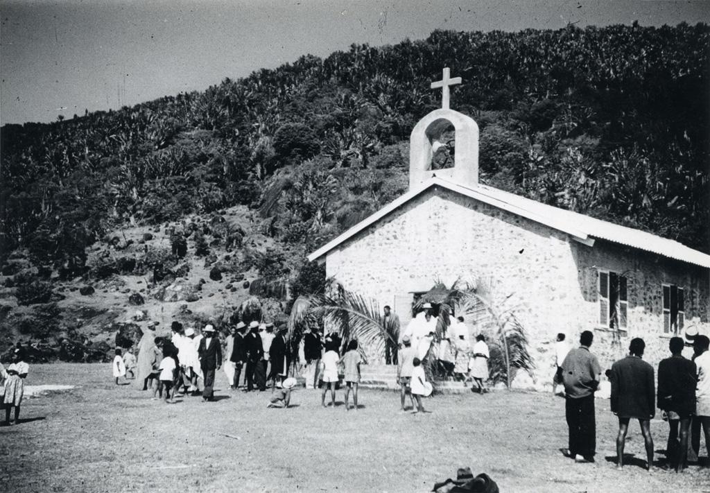Inauguration du temple