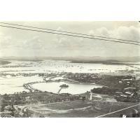Inondations de janvier, la plaine des rizières inondées
