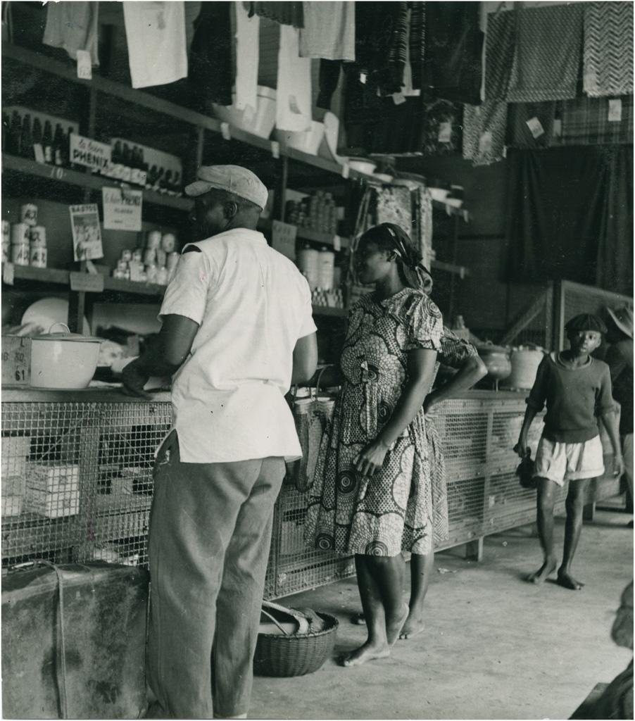 Intérieur de boutique à Yaoundé