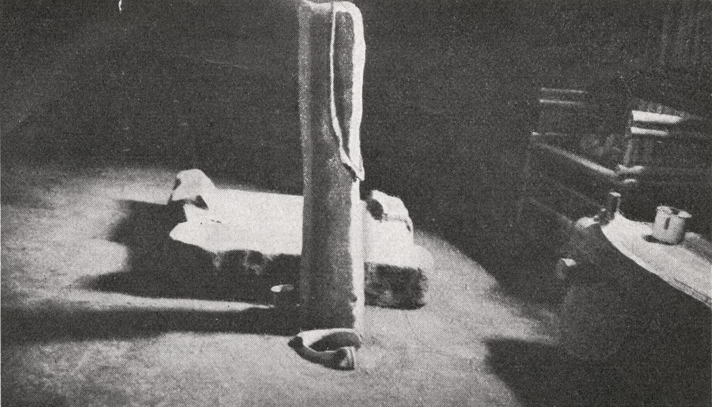 Intérieur de case bamoun