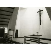 Intérieur de la chapelle de Libamba