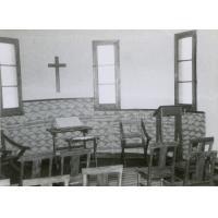 Intérieur de la chapelle de l'Ecole Biblique de Séfula