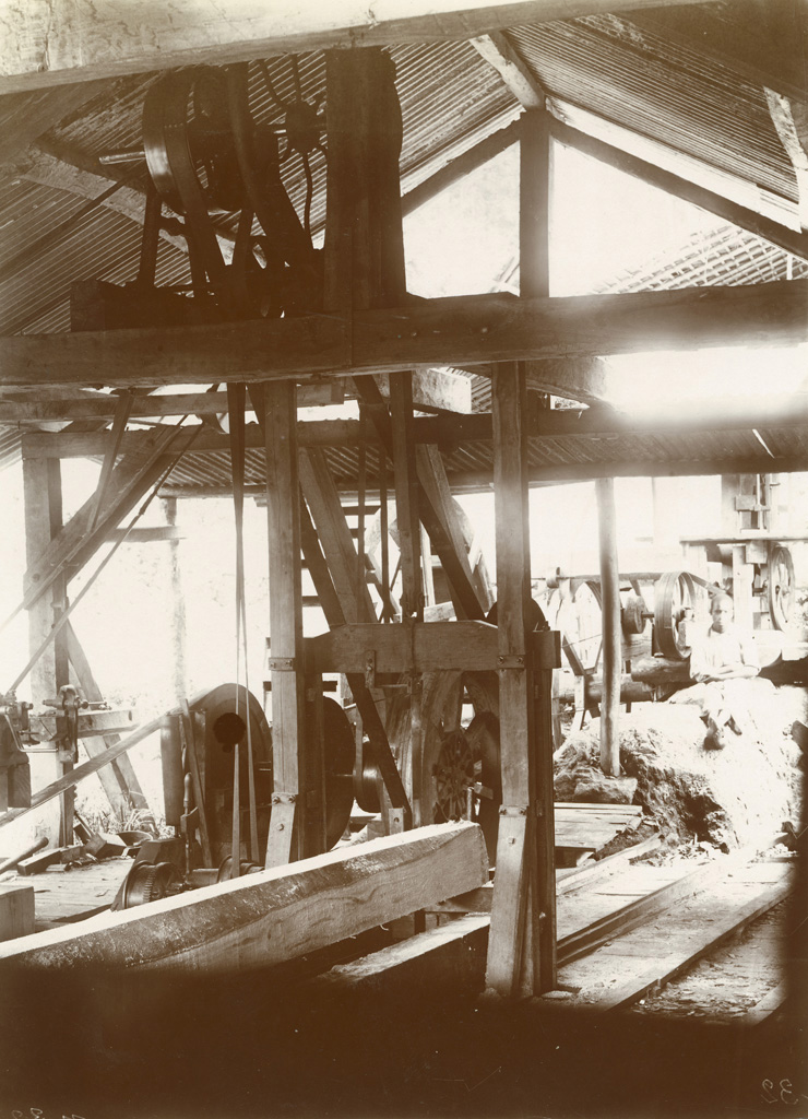Intérieurs de la scierie du vieux Talagouga
