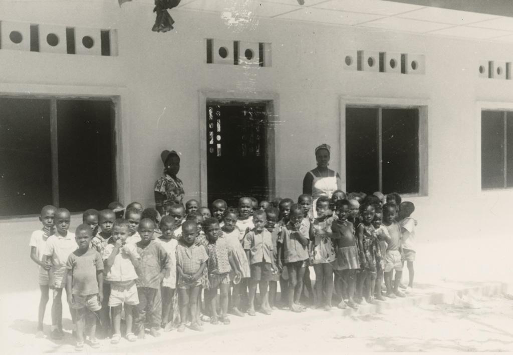 Jardin d'enfants à Baraka, Libreville