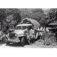 Jean-Louis Baumgartner et sa jeep