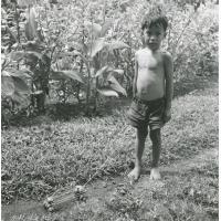 Jeu de garçonnet, village de Vairao, Tahiti