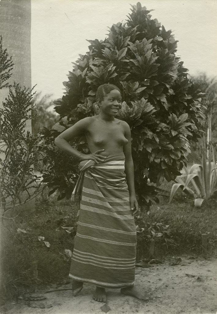 Jeune gabonaise