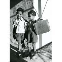 Jeunes écoliers malgaches